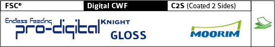 pro-digital Knight-Gloss, FSC, Digital CWF, C2S, STD